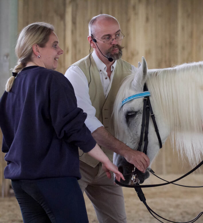 Und wer bist du in den Augen deines Pferdes? Kursbericht Bent Branderup
