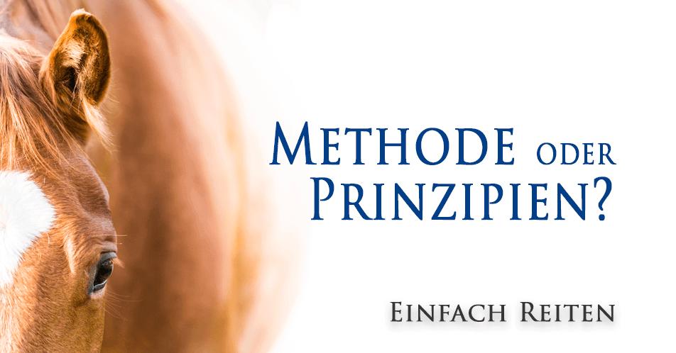 Methode oder Prinzipien