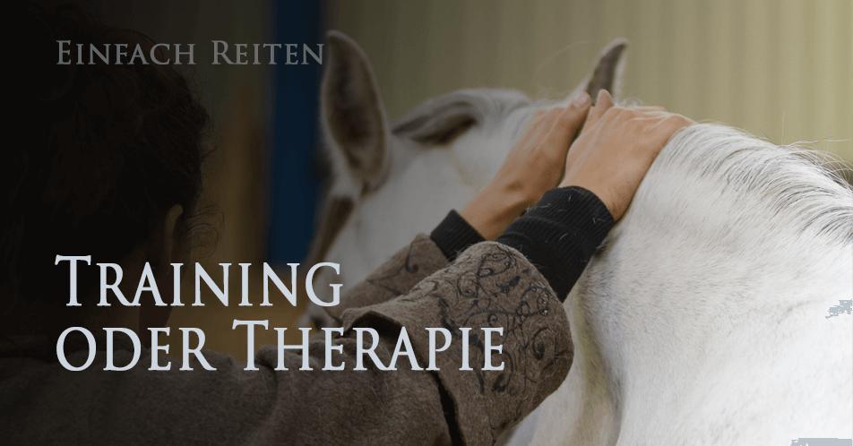 Training oder Therapie